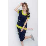 Maternity Set - OP Yellow Dark Blue
