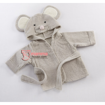 Baby Bathrobe - Mouse