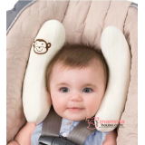 Baby Adjustable Head Support - Summer Almond