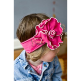 Baby Headband - Flower Sun Shine Pink