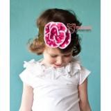 Baby Headband - Polka Rose Pink