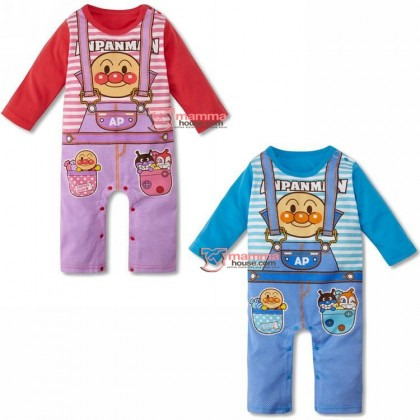 Baby Clothes - Romper Long Anpanman