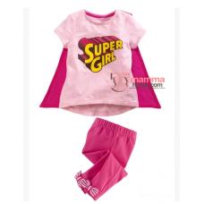 Baby Clothes - 2 pcs Super Girl