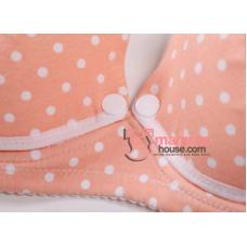 T Nursing Bra - Ive Lace Orange Pink