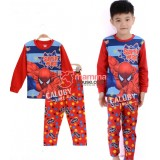 Baby Pajamas - Spiderman Cool Red