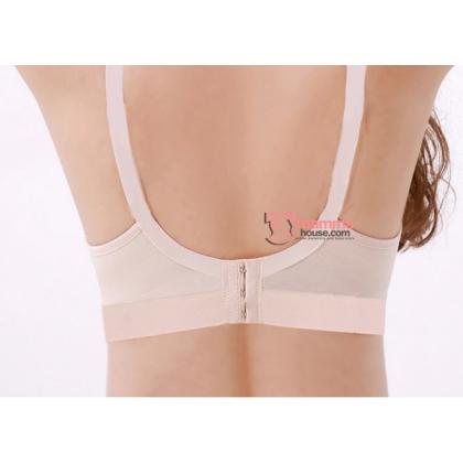 T Nursing Bra - Seamless Smooth Pink #