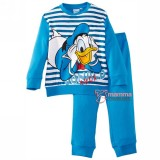 Baby Pajamas - Disney Cotton Donald Stripe Blue