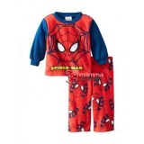 Baby Pajamas - Disney Stamp Cotton Spiderman