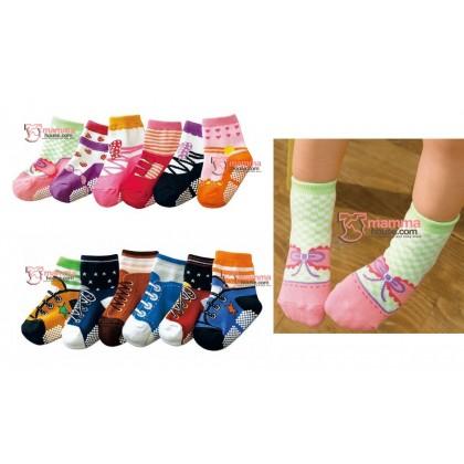 Baby Socks - Shoes Set (6 pcs - boy OR girl)