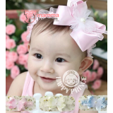 Baby Headband - Smooth Ribbon (3 colors)