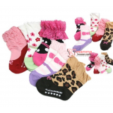 Baby Socks - Shoes Set (5pcs Girl Lace)