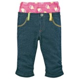 Baby Long Pants - Stripe Pink Blue