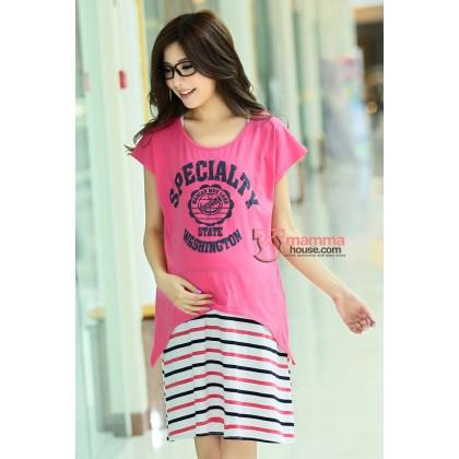 Nursing Dress - Specialty Rose Pink