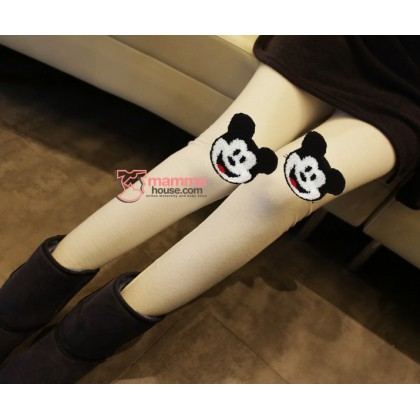 Long Legging - Long Mickey White
