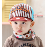 Baby Cap - Baseball Brown