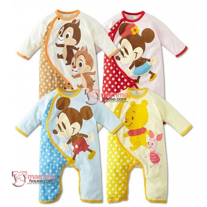 b7208a06d12d Baby Clothes - Romper Disney Long 4 Cartoon