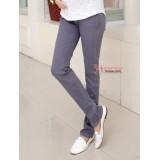 Maternity Jeans - Grey Slim Pants