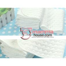 Diaper Insert - Cotton Grid 3 Layer (per pc)