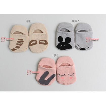 Baby Socks - Korean Boat Rabbit