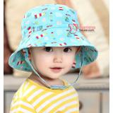 Baby Hat - Cool Blue Rocket