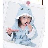 Baby Bathrobe - Cute Shark