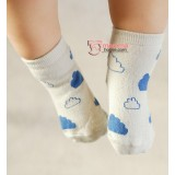 Baby Socks - Korean Cloud Grey
