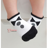 Baby Socks - Korean Bowtie Black
