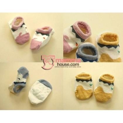 Baby Socks - Korean Boat 3 colors