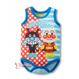 Baby Clothes - Romper Singlet Anpanman Blue