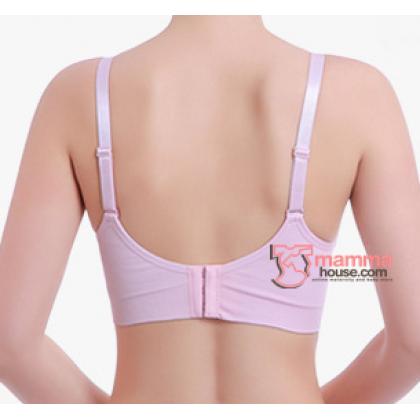 T Nursing Bra - Seamless Padded Pink