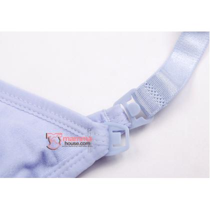 T Nursing Bra - Seamless Padded Purple