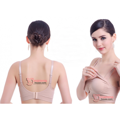 T Nursing Bra - Seamless Padded Skin