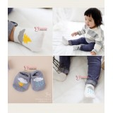 Baby Socks - Korean Boat Ivory or Grey