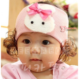 Baby Headband - Rabbit Hair (3 colors)