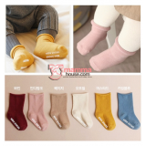 Baby Socks - Korean Cotton (6 colors)