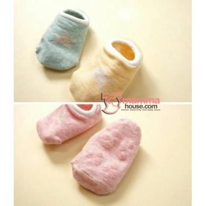 Baby Socks - Korean Boat Star (4 colors)
