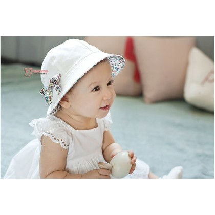 Baby Hat - 2 way Flora (2 colors)