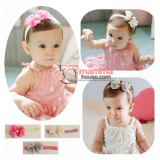 Baby Headband - Silk Ribbon (3 colors)