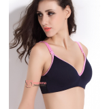 T Nursing Bra - Joy Seamless Dark Blue