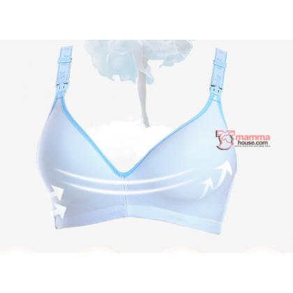 T Nursing Bra - Joy Seamless Grey