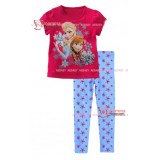 Baby Set - Anna/Elsa Snow Pink (2-7yrs)