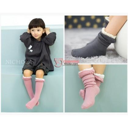 Baby Socks - Korean White Opening (2 colors)