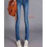 Maternity Jeans - Pocket Style Mid Blue