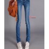 Maternity Jeans - Pocket Style Mid Blue