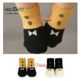 Baby Socks - Korean Botton Tie (2 colors)