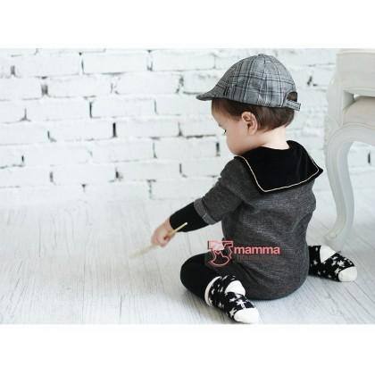 Baby Socks - Korean Terry Star (3 colors)