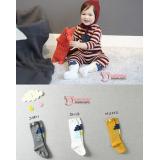 Baby Socks - Korean Long Rain (3 colors)