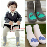 Baby Socks - Korean Dino (3 colors)