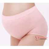 Maternity Panties - Seamless Panties Pink