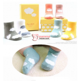 Baby Socks - Korean Cloud (6 colors)
